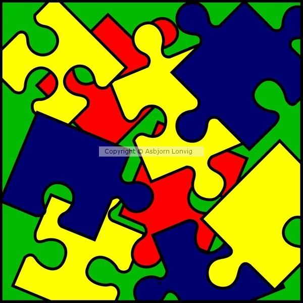 christen puzzle mess 1000