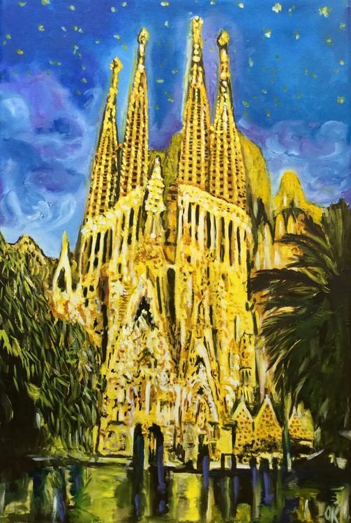 Barselona . Sagrada Familia