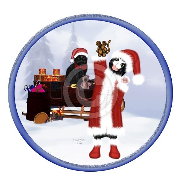 Santa Willy the Cat