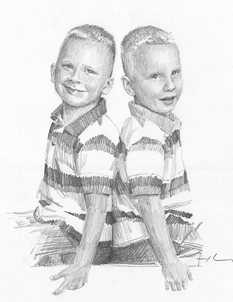 brothers drawing