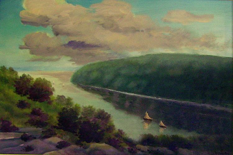 Sailboats at Peekskill