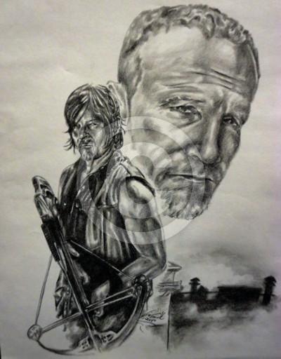 The Walking Dead - Dixon Bros
