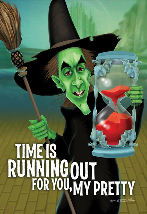 The Wizard of Oz - Wicked Witch of the West - Greeting Card