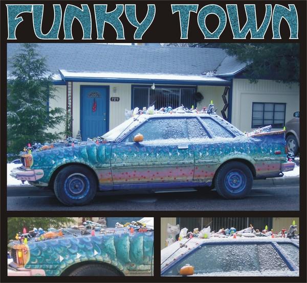 Funky Town Car