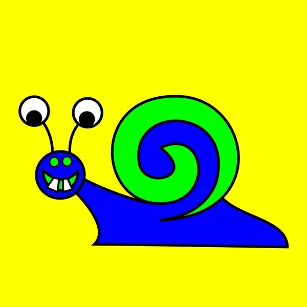snegl blue green g b