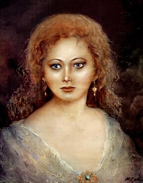 Portrait of maiden