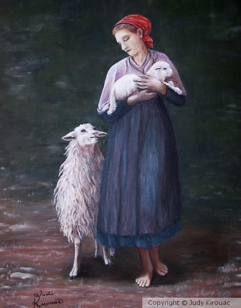 Barefoot Shepherdess