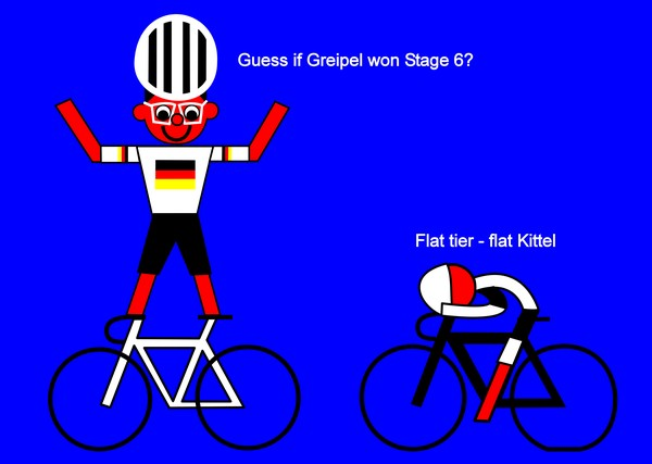 tour de france 2014 stage 6 greipel happy man