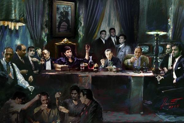 The Fallen Last Supper