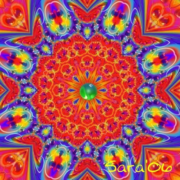 MerryGoRound Mandala