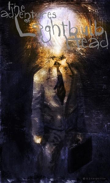 The Adventure of Lightbulb Head the graphic novel
