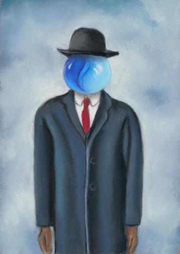 variation on a Magritte