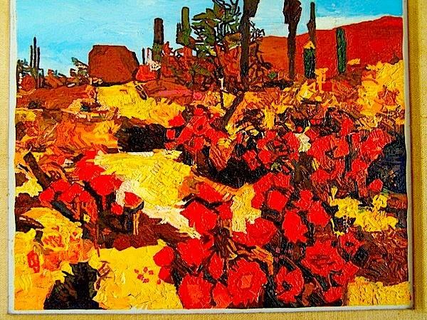 16 x20 oil painting - desert southwest