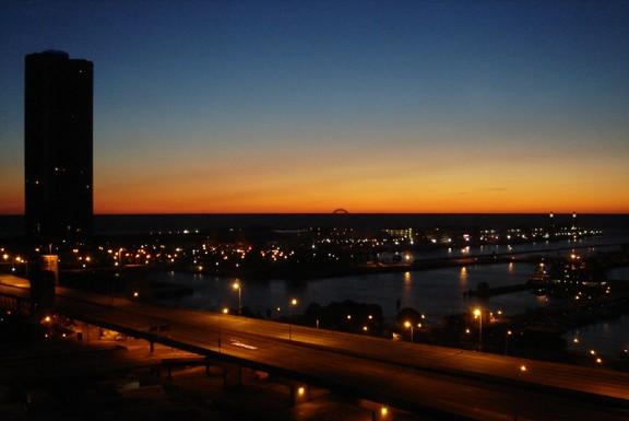 Navy Pier Sunrise