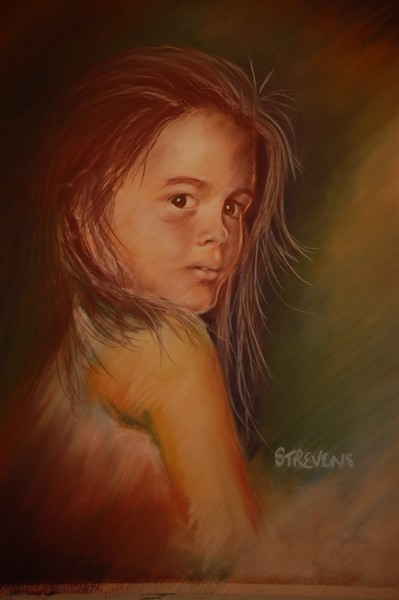 girl with wet hair - again