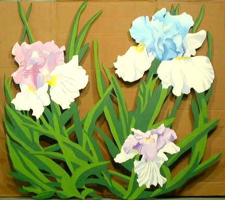 Die-Cut Blue Iris