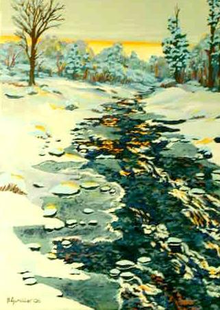 Snowscape #1