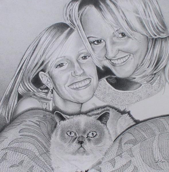 Anna, Erin, and Jo Jo