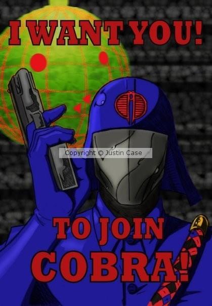 Cobra Commander Wants You!