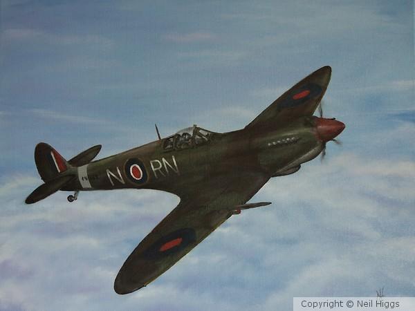 RAF 72 Sqn Spitfire IX