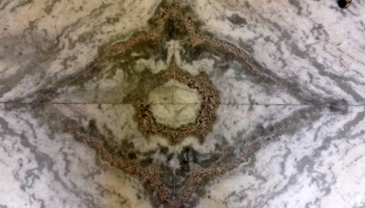 Floor design on Stone  by Nature
