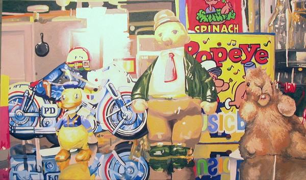 Display Case (Popeye) - sold