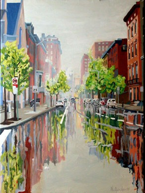 Cathedral Street - Rain - #2