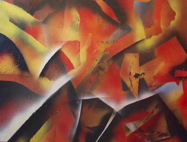 abstract sprayart 8