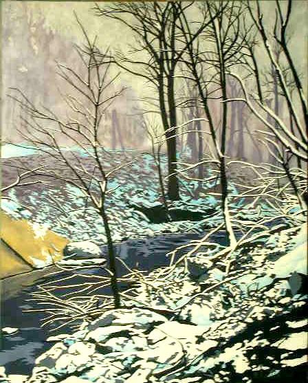 Snowscape #4 (Jones Falls)