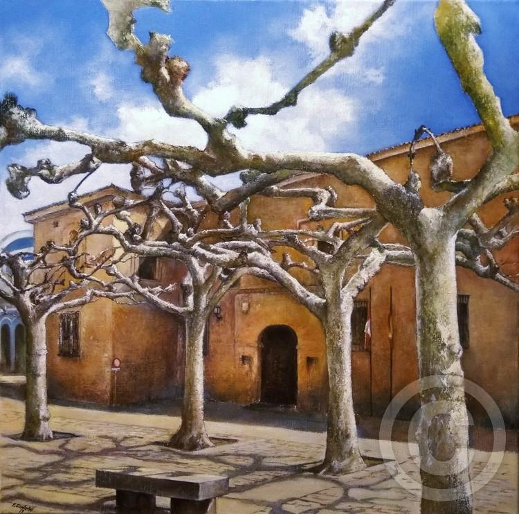 Viriato square-Zamora (Spain)