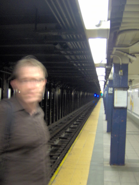 Ghosts on the Subway