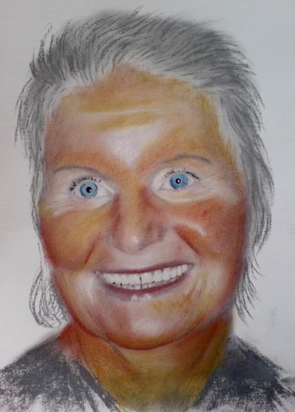 pastel portrait request
