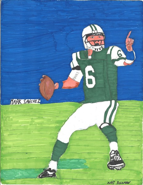 Mark Sanchez the Great Jet QB