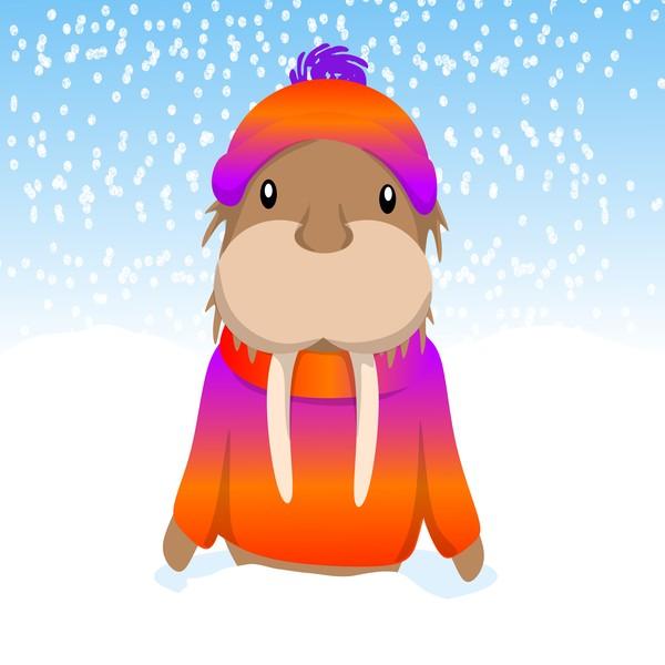 Wally Walrus' Winter Wonderland