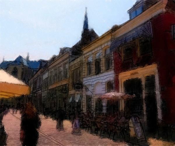 Main Street in Kampen