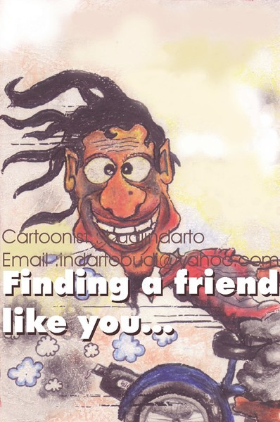 Finding a friend like you