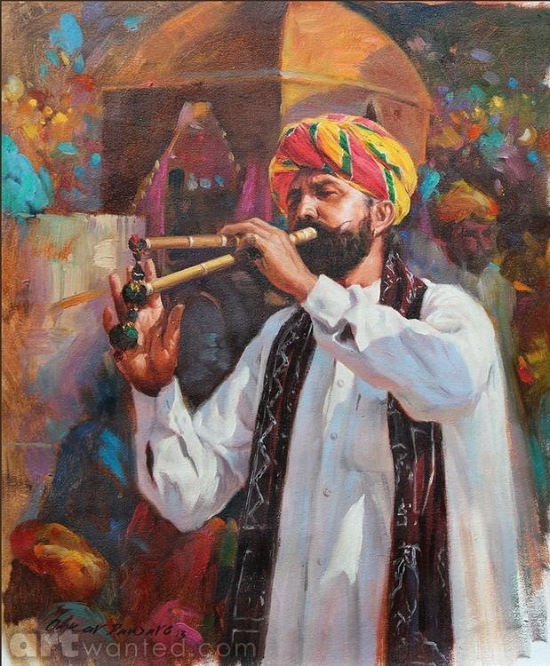 Rajasthani Musician 2