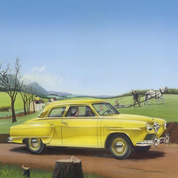 1950 Studebaker Champion - Square Format