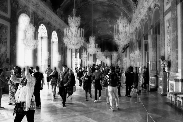 Hall of Mirrors - Palace of Versaille