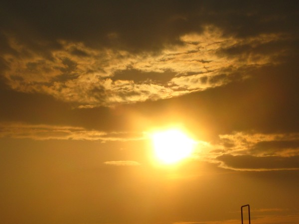 ..ALMOST OVER-THE THUNDERSTORM:=)SUNSETS