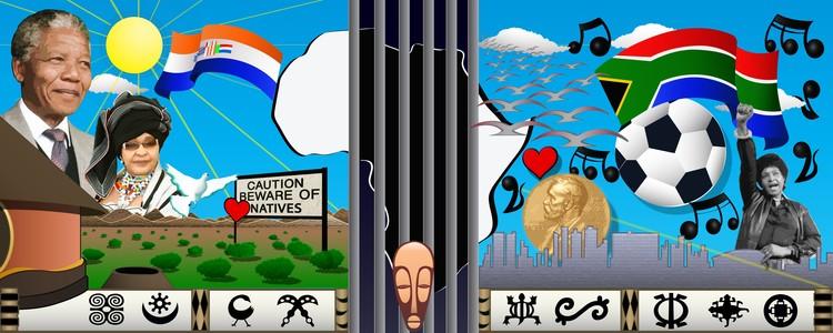 Mandela AWC  Mural concept