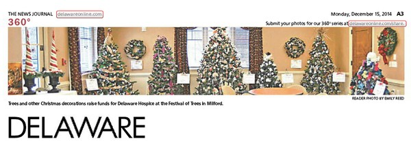 207th News Journal Panorama- Festival of Trees