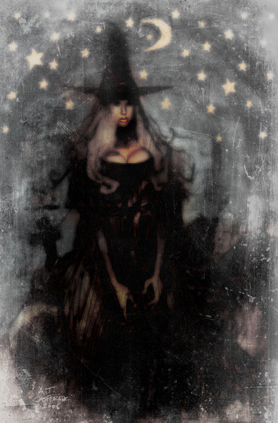 Graveyard Witch