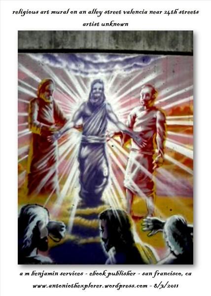 Religious Art Mural