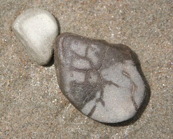 Rock Art on the Beach