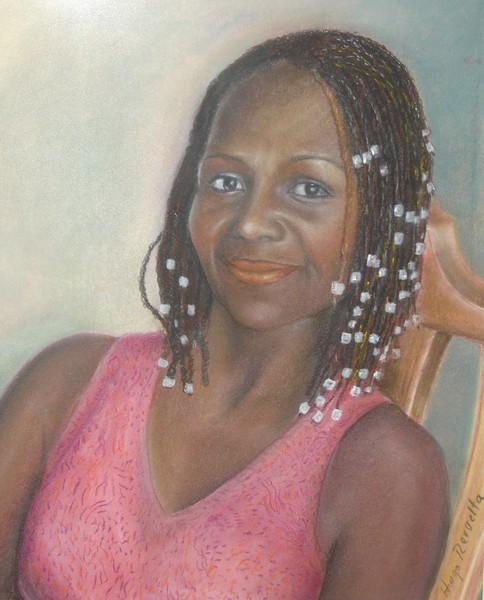 Ebony skin over a golden heart