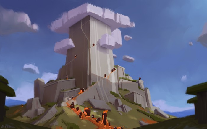 Demigod Vis Dev - Mt. Olympus