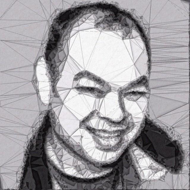 Paper fold/cutout of me