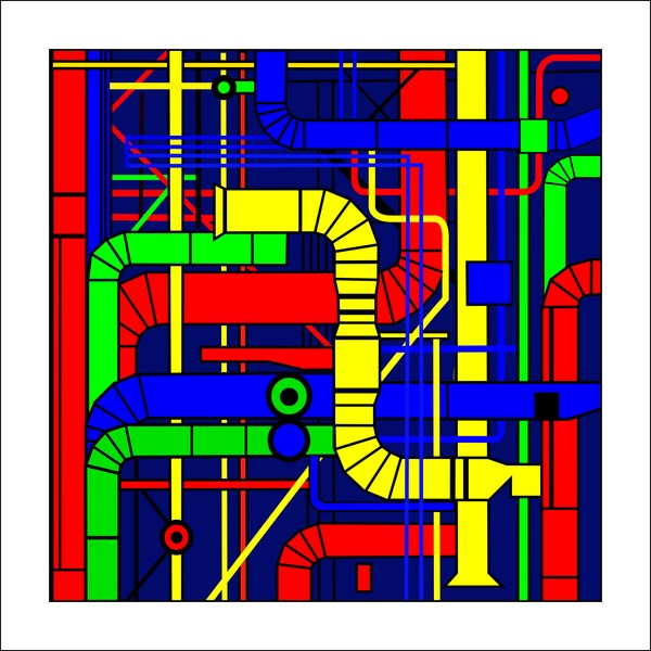 centre pompidou margin