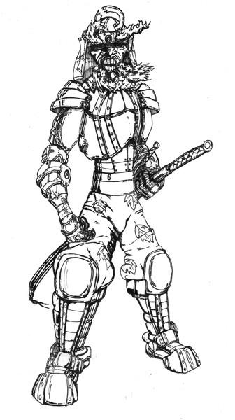 Samurai Robot A